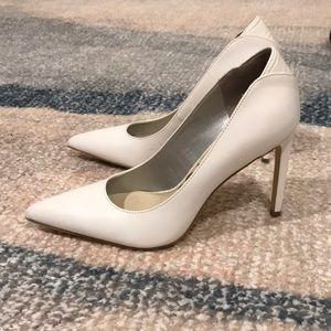 Sam Edelman White heels